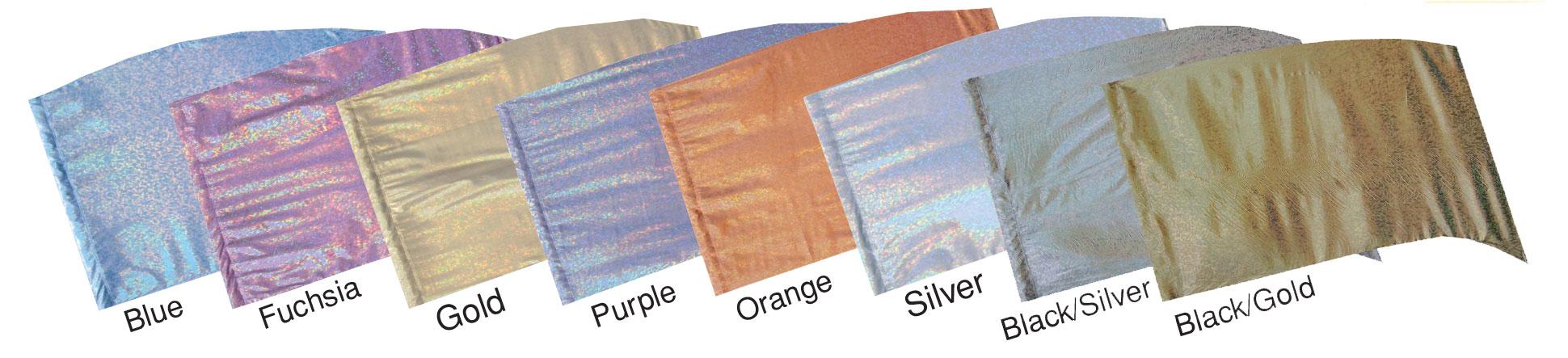 Reflection Lamé Flags