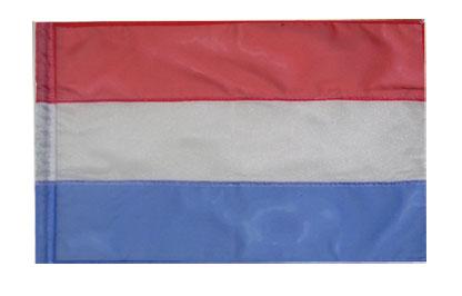 Twirl Baton Flags: Red/White/Blue Sparkle
