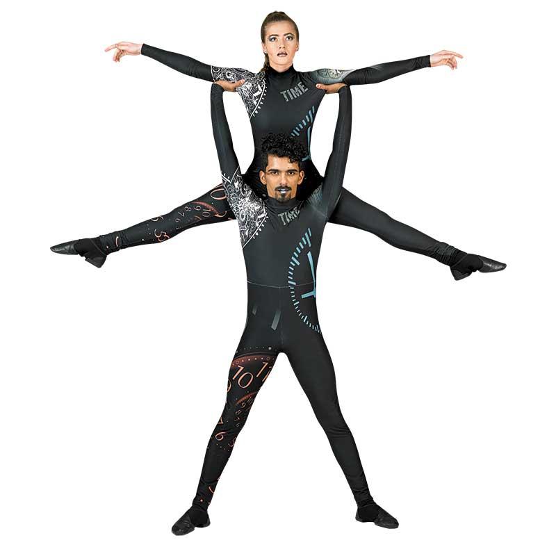 Digital Uniforms: 17100 Unisex Jumpsuit, Style Time