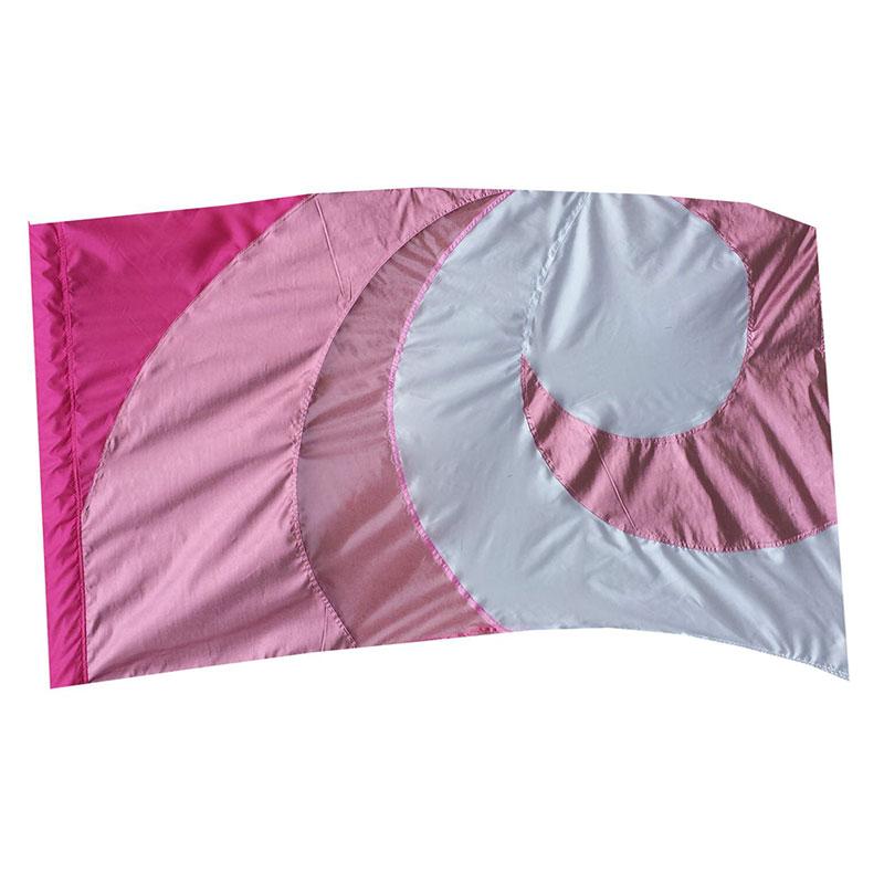 Lava Wave Flag, Pink