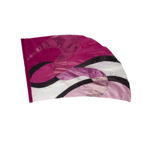Swirl Flag, Pink