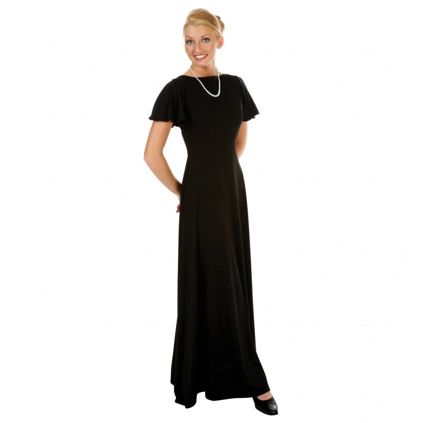 Juliet Concert Dress, Flutter Sleeve