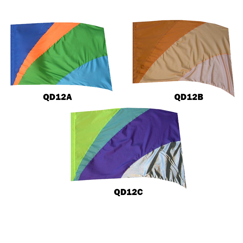 Quick Delivery Flags: Style 12