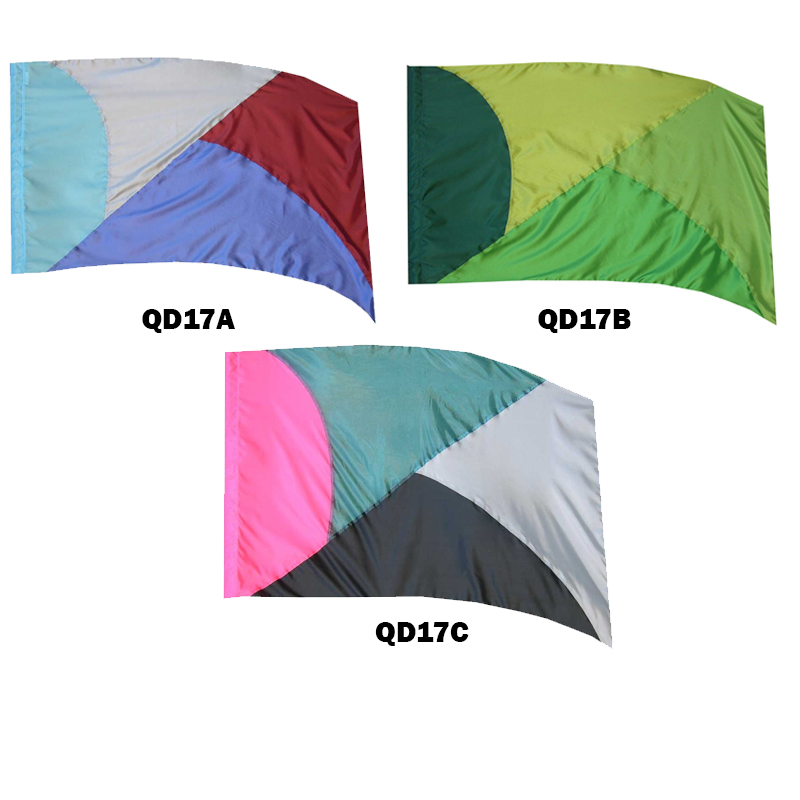 Quick Delivery Flags: Style 17