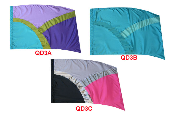 Quick Delivery Flags: Style 3