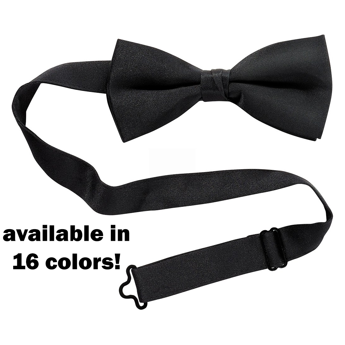 Satin Banded Bow-Tie