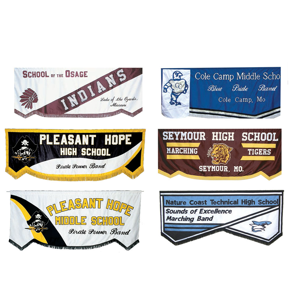 Traditional Appliqued Banners