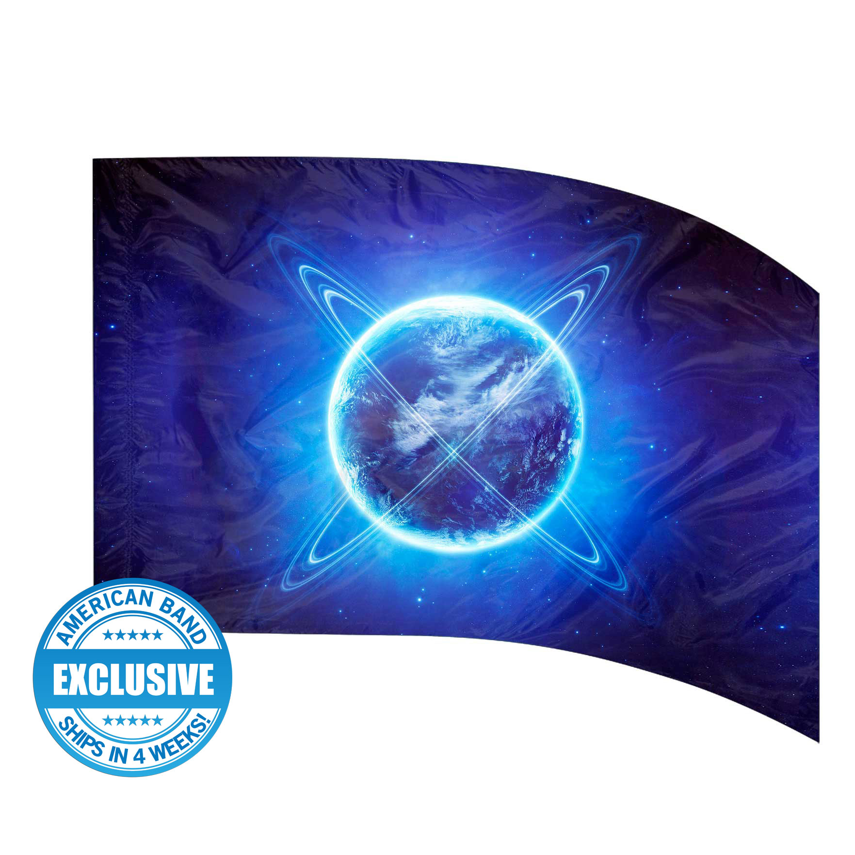 Made-to-Order Digital Cosmos Flags: Style 3