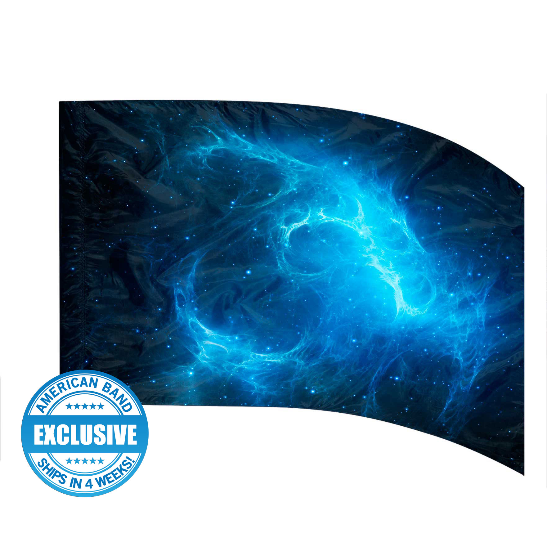 Made-to-Order Digital Cosmos Flags: Style 4