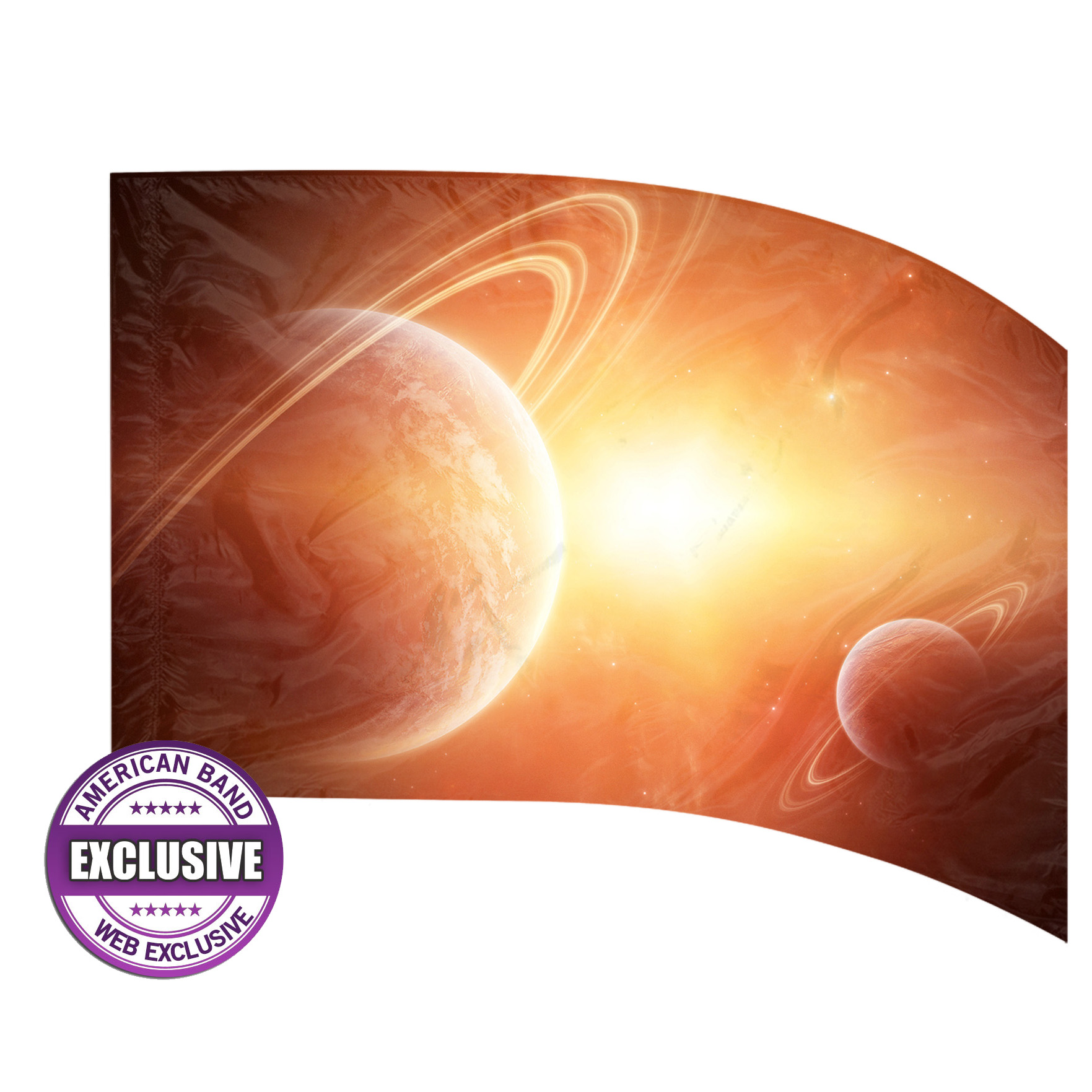 Made-to-Order Digital Cosmos Flags: Style 9