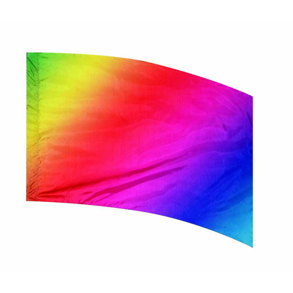 Multi-Shaded PCS Flags: Style 4