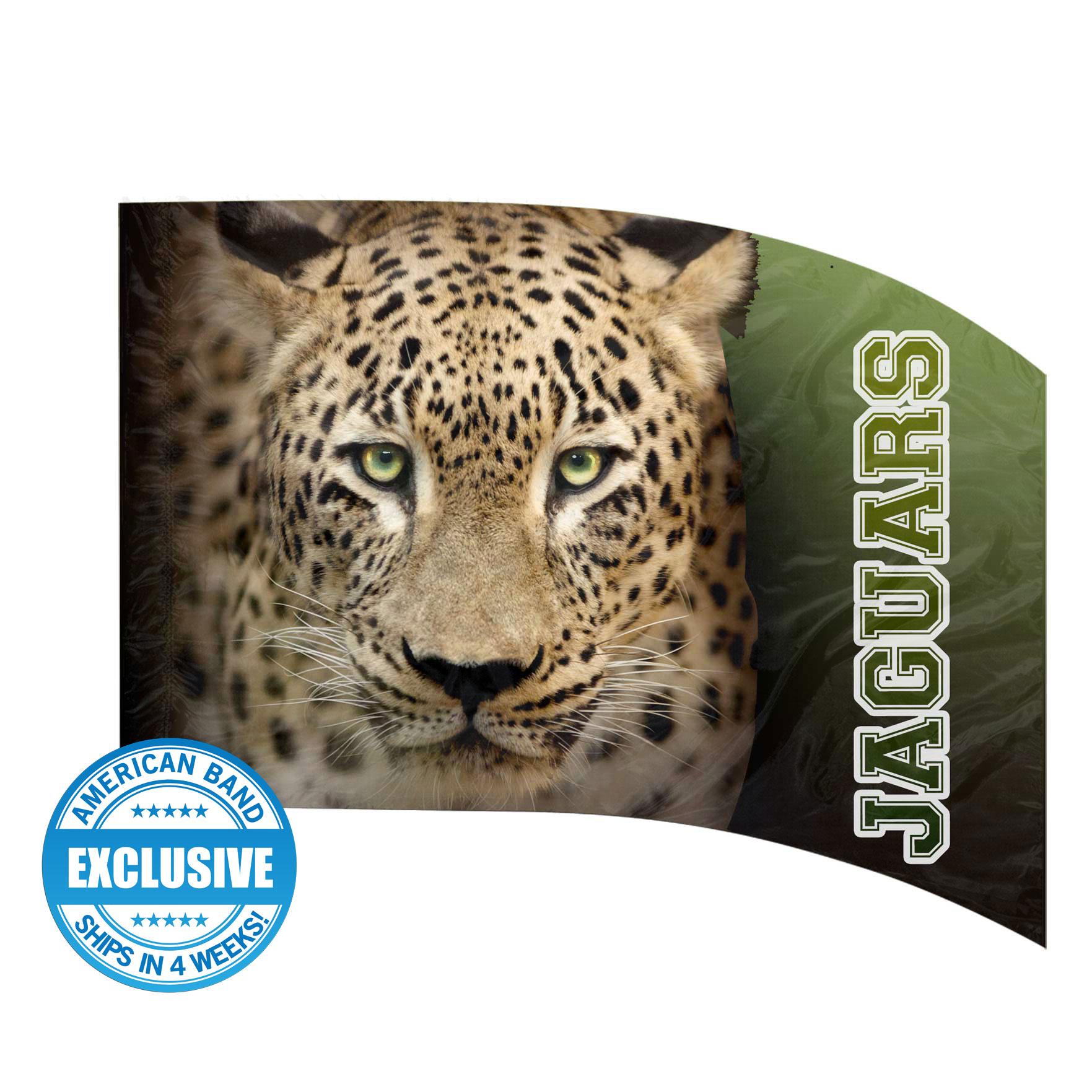 Made-to-Order Digital Mascot Flags - Jaguar