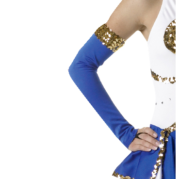 Lycra and Sequin Mitts