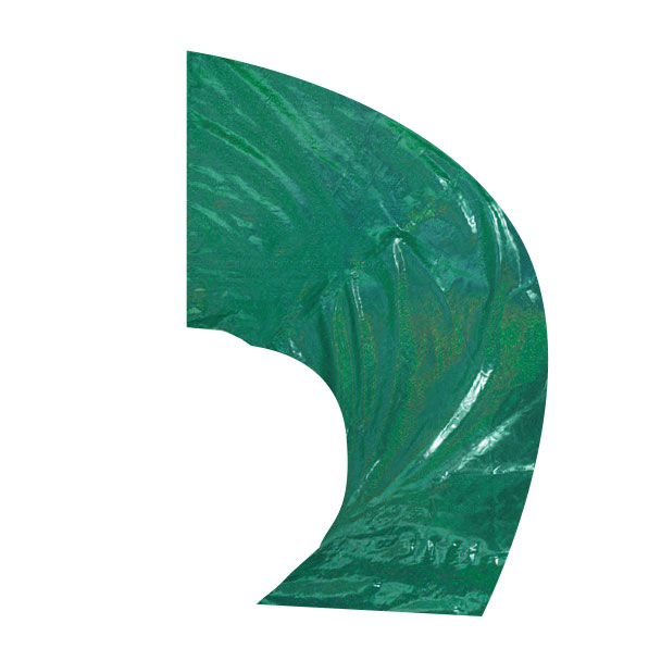Solid Value Super Swing Flags (Mardi Gras Lamé)