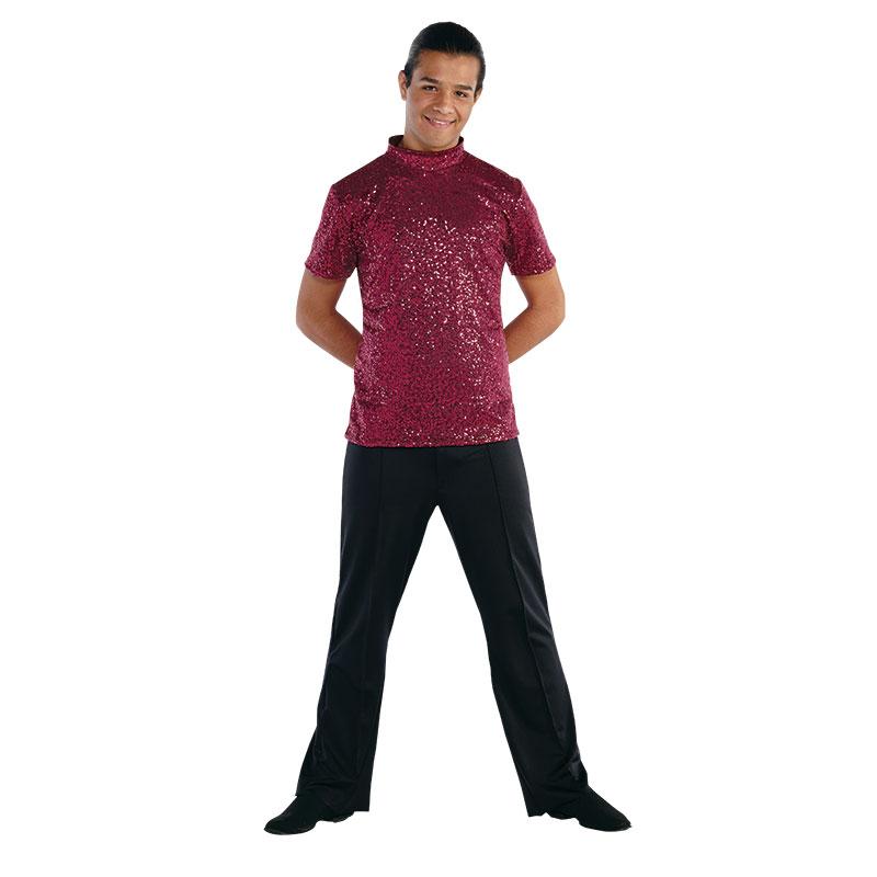 Guard Uniforms: Mens Microsequin Shirt