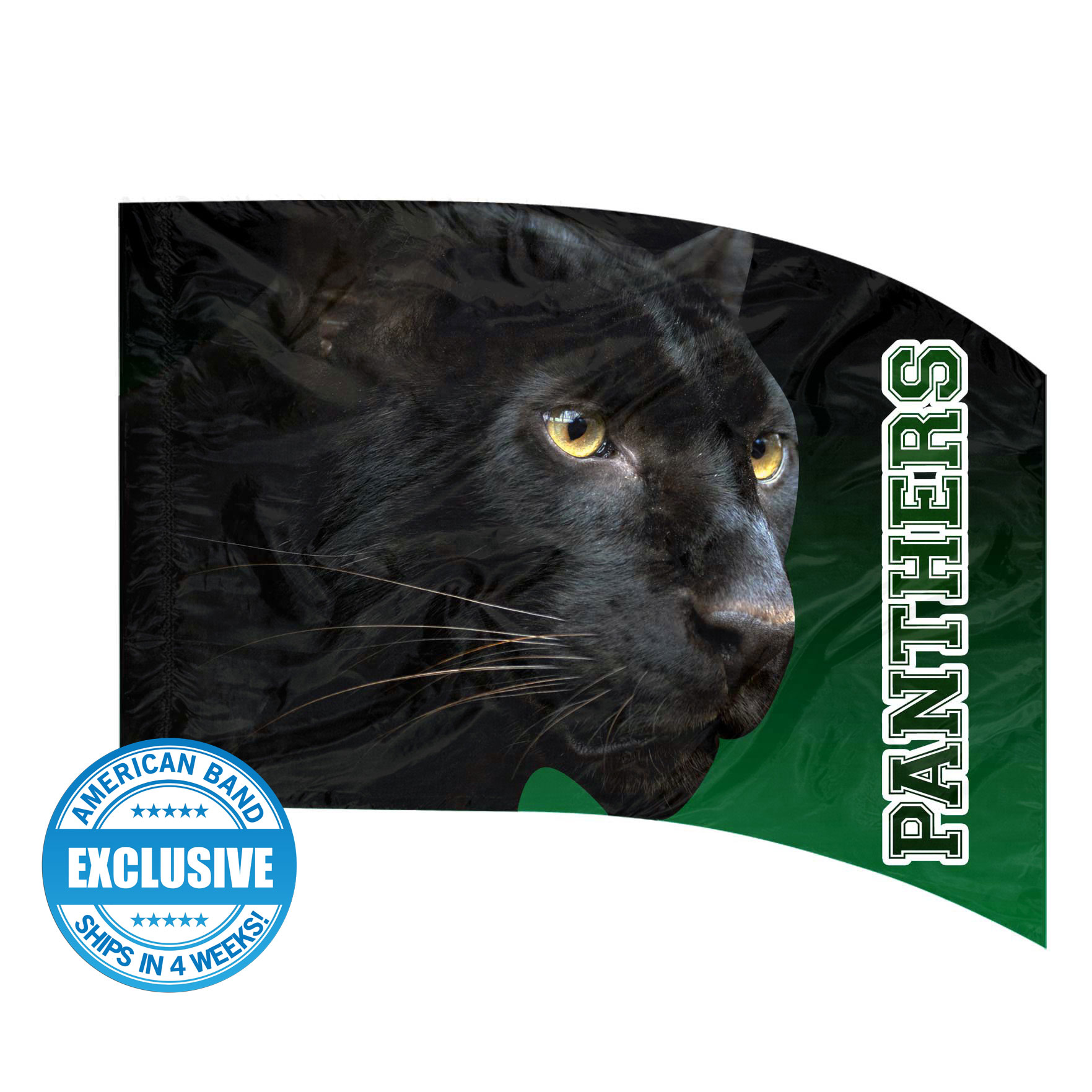 Made-to-Order Digital Mascot Flags - Panther