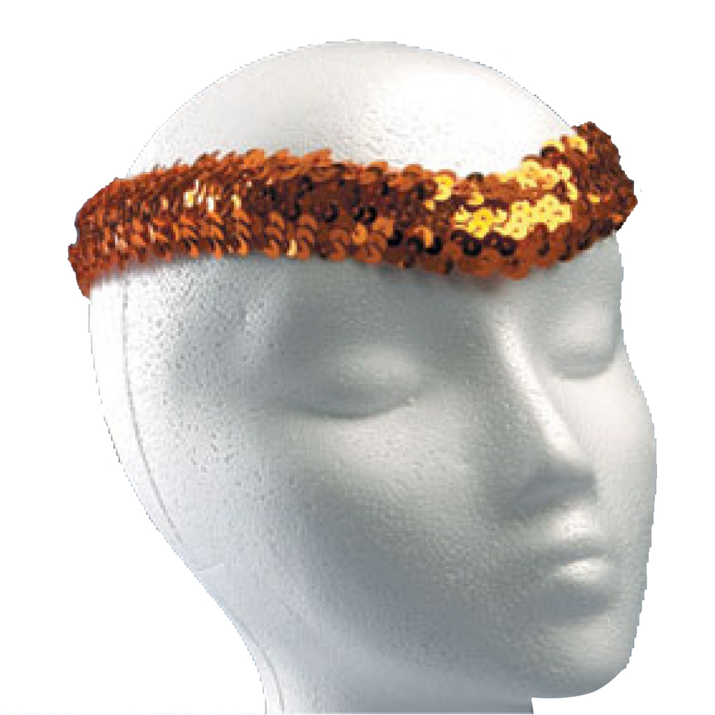 Sequin Headpiece (no trim)