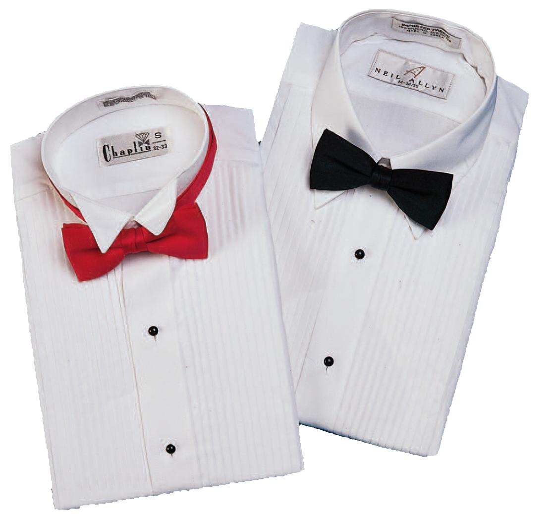 Laydown or Wing Collar Shirts