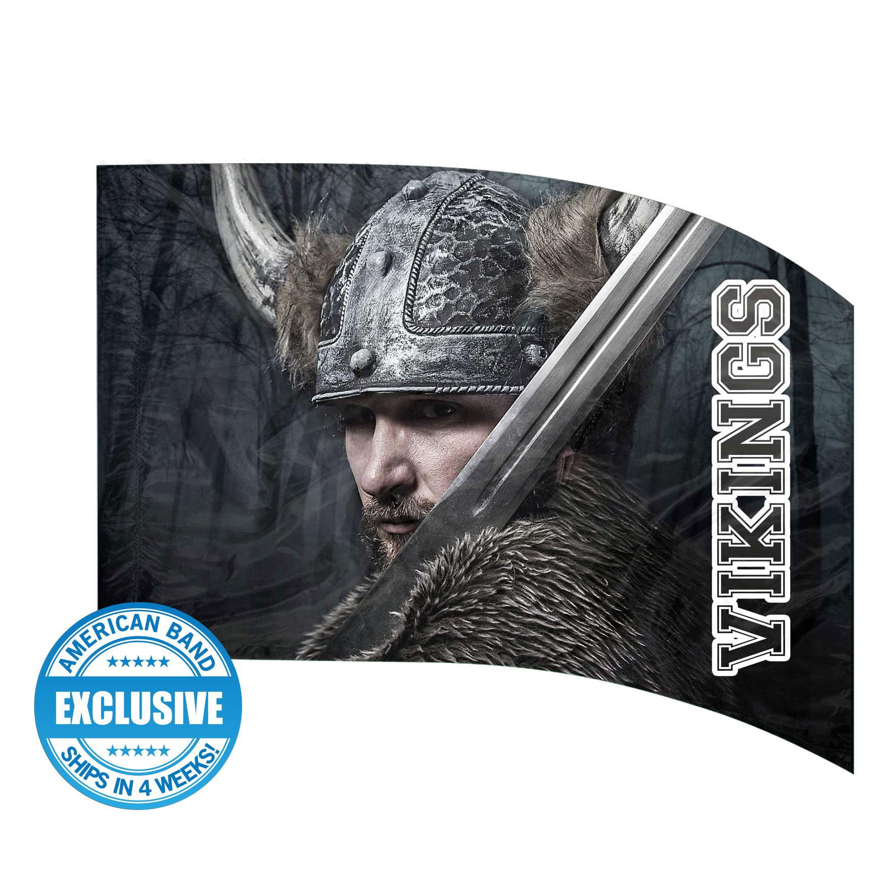 Made-to-Order Digital Mascot Flags - Viking