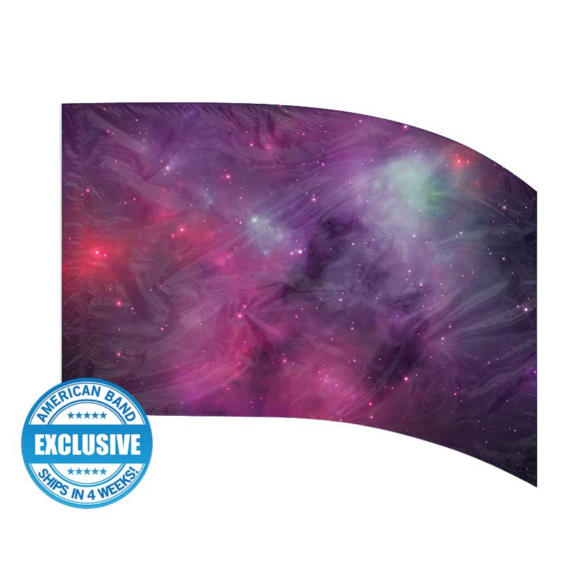 Made-to-Order Digital Cosmos Flags: Style 13